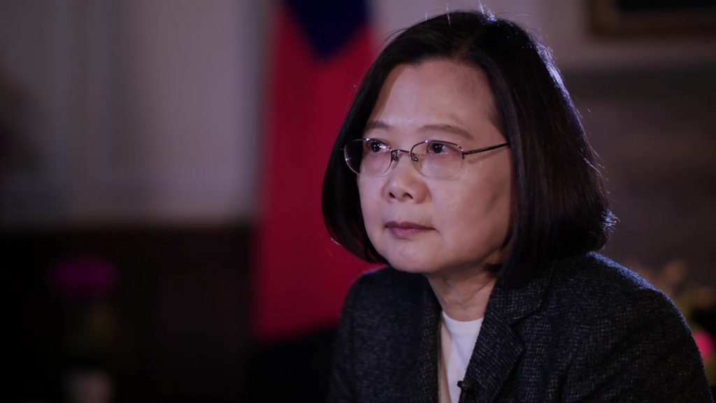 China needs to show us respect - Taiwan president