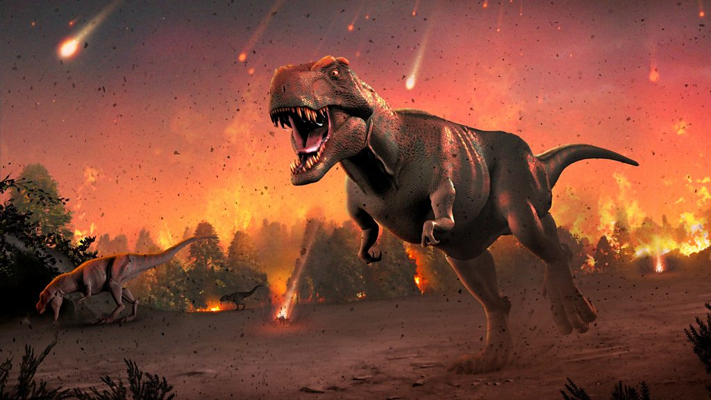 "Dinosaur extinction: ""Asteroid strike was the real culprit"