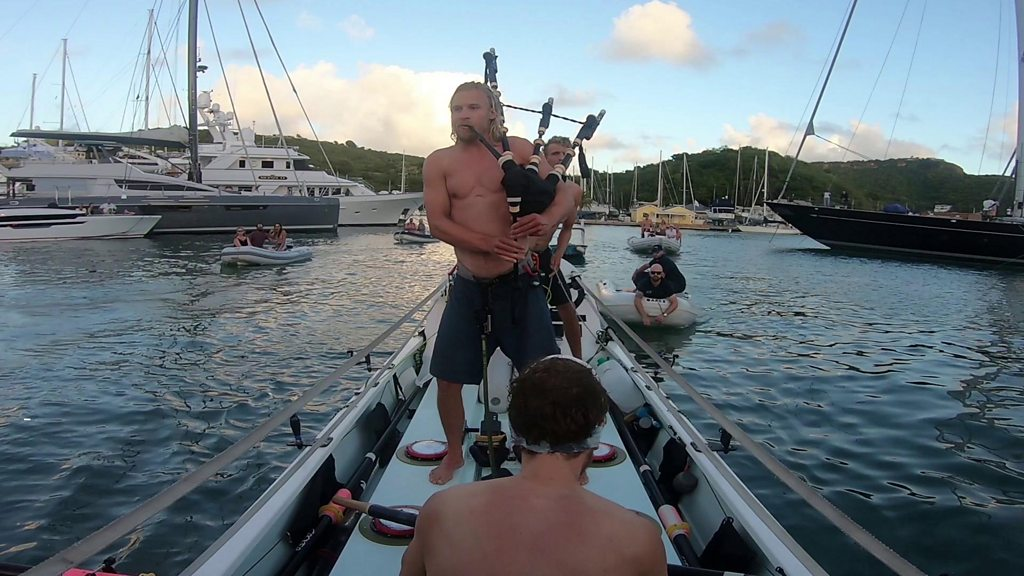 Edinburgh-brothers set the rowing world records in the Atlantic