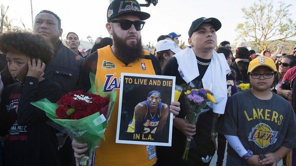 Kobe Bryant: US mourns basketball legend killed in helicopter crash