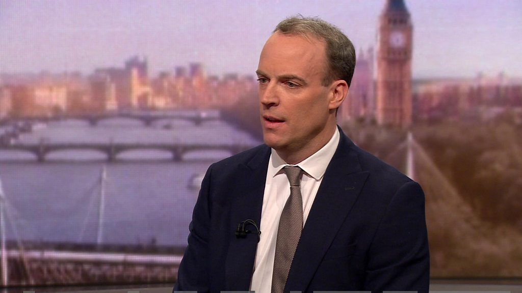 Britain 'will not be aligning with EU rules' - Raab