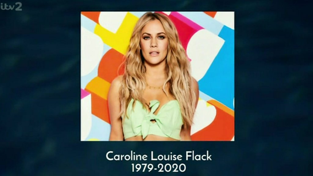 Love Island's tribute to 'much-loved' Flack