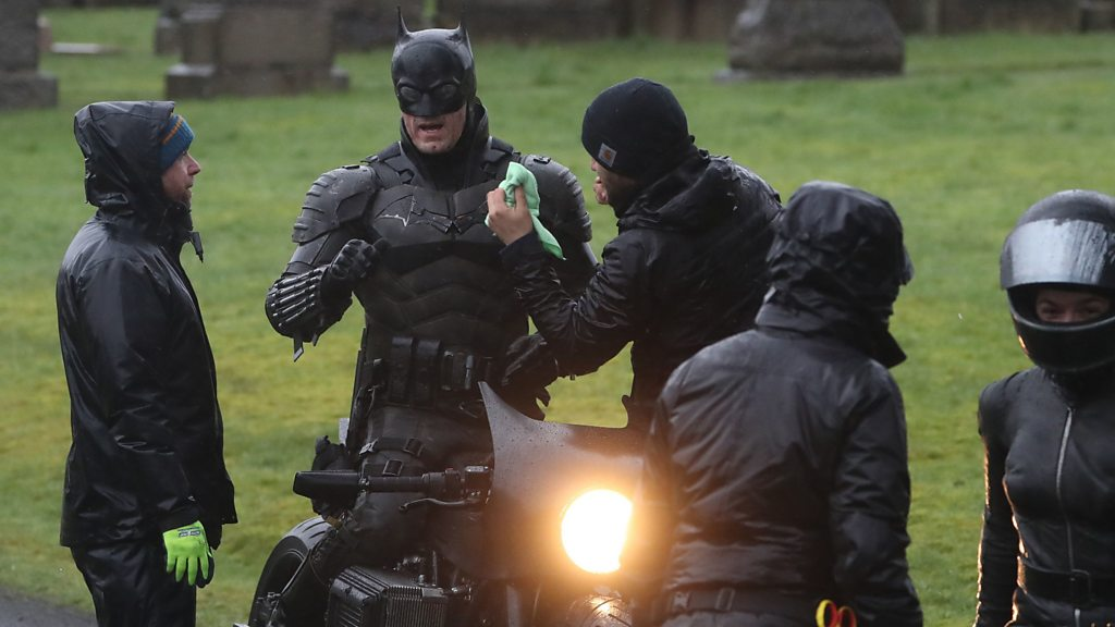 The Batman begins filming in Glasgow city centre