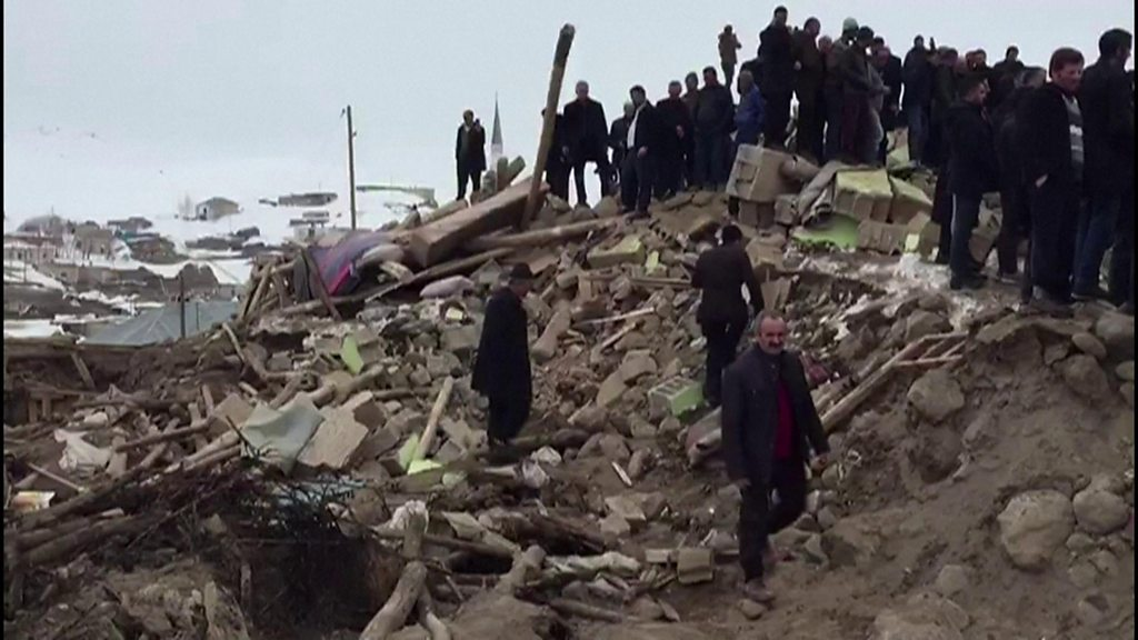 Deadly earthquake hits eastern Turkey