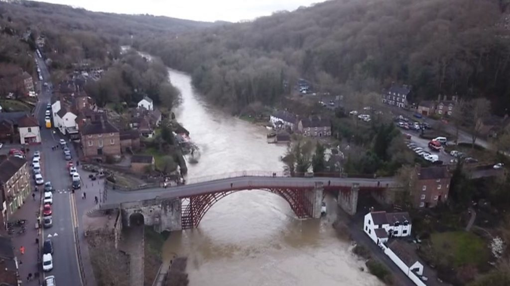Train lines closed as river flood levels rise