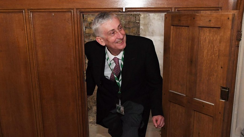 Lost doorway reveals historic secrets in Parliament