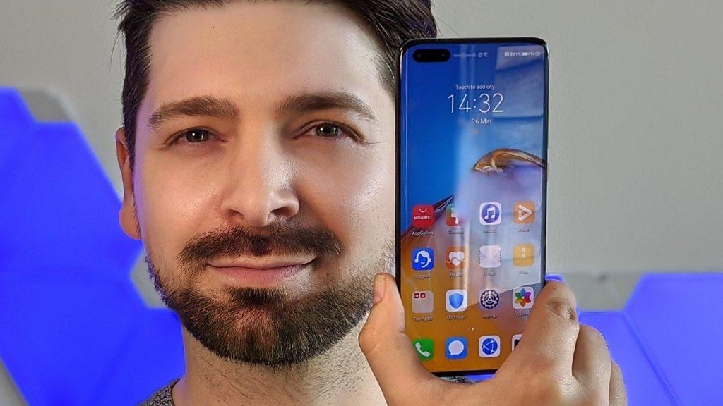 Huawei P40 flagship phones launch amid Covid-19 crisis - BBC News