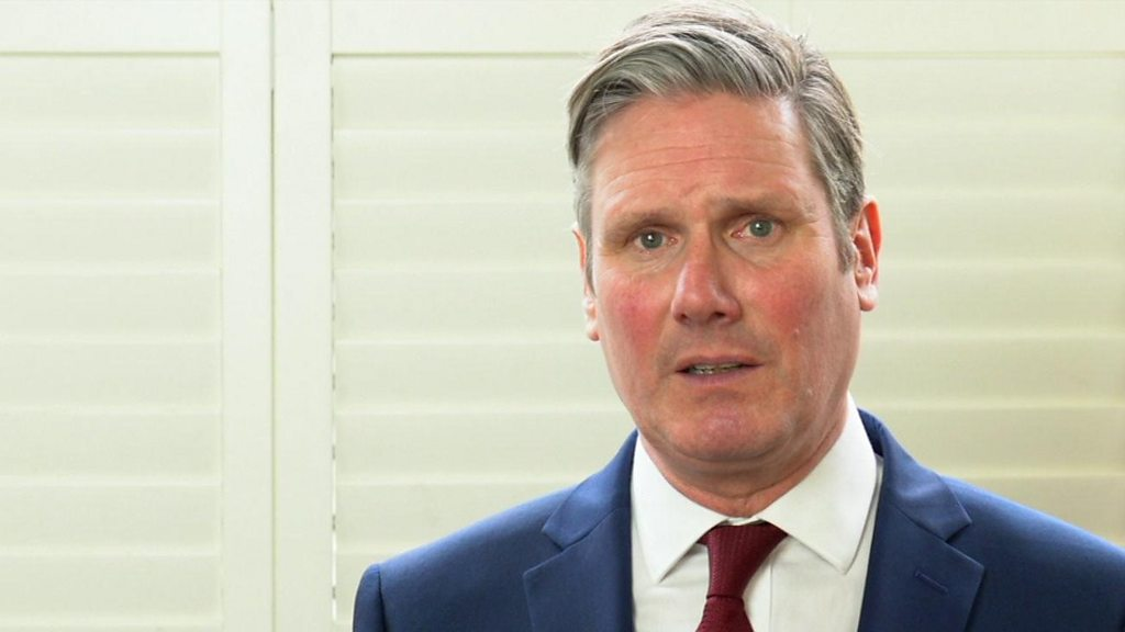 To lead the new Labour leader Keir Starmer vows-party in the  new era