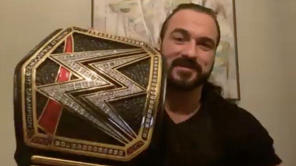 WrestleMania: Drew McIntyre on being first ever British champion ...