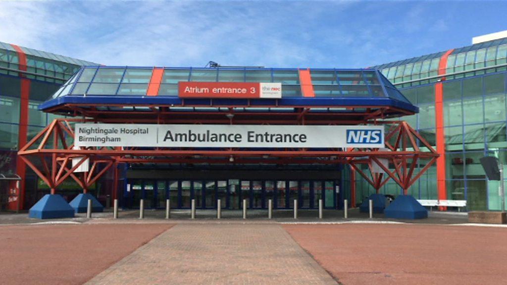 "Covid-19: Birmingham, Nightingale hospital ""for operational reasons"""