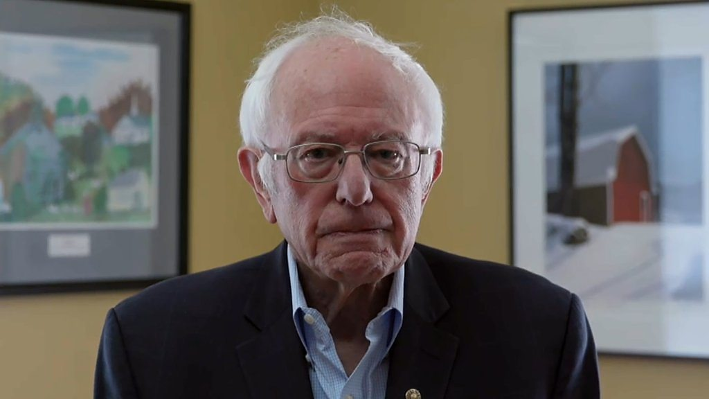 US election 2020: Bernie Sanders under the dial breaks up the fight