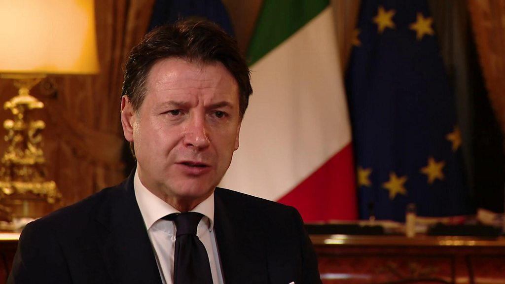 EU could fail over virus, warns Italy PM