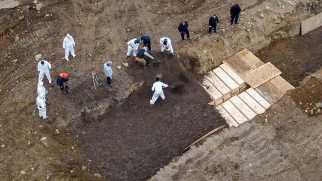 Coronavirus: New York to the mass burials ramps in the midst of the outbreak