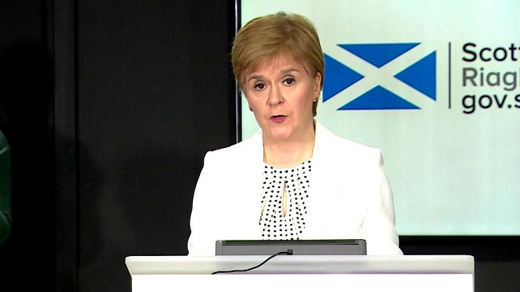 Coronavirus: Nicola Sturgeon says 'Don't be complacent' over Easter