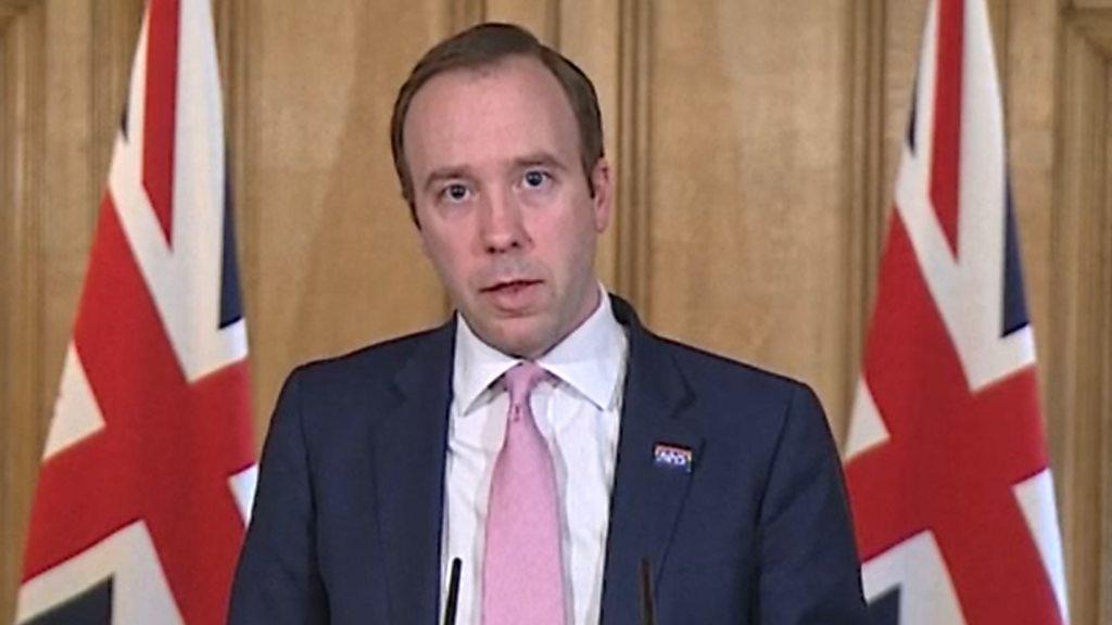 """Coronavirus:  Dark day"""" UK deaths hit 10,000"""