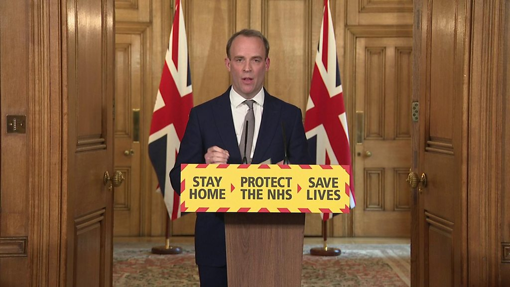 Coronavirus: UK lockdown extended for 'at least three weeks'