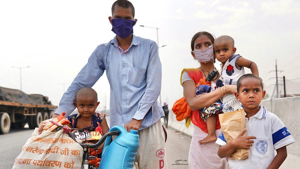 Coronavirus: India to loosen lockdown despite record cases - bbc