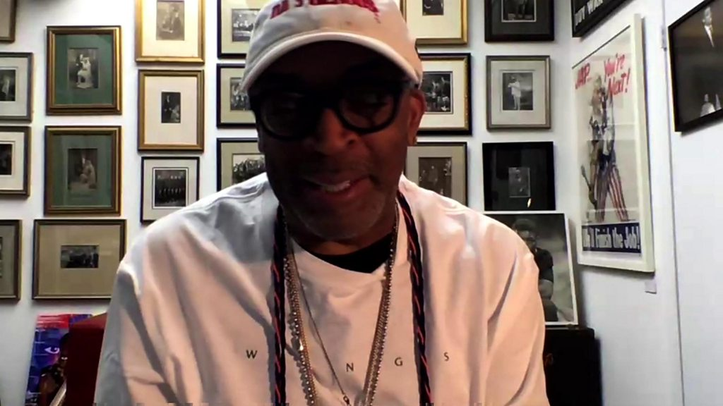 "George Floyd s death: Spike Lee says that protesters are ""just born angry"