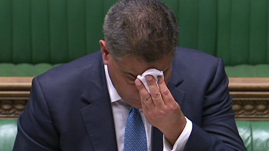Sharma self-isolates after falling ill in Commons