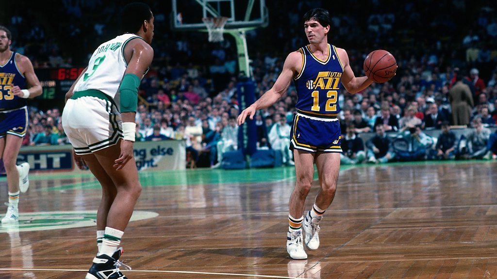 The day of basketball star John Stockton, came to Dungannon
