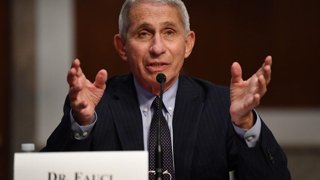 Coronavirus: Fauci warns of 100,000 U. S. cases per day