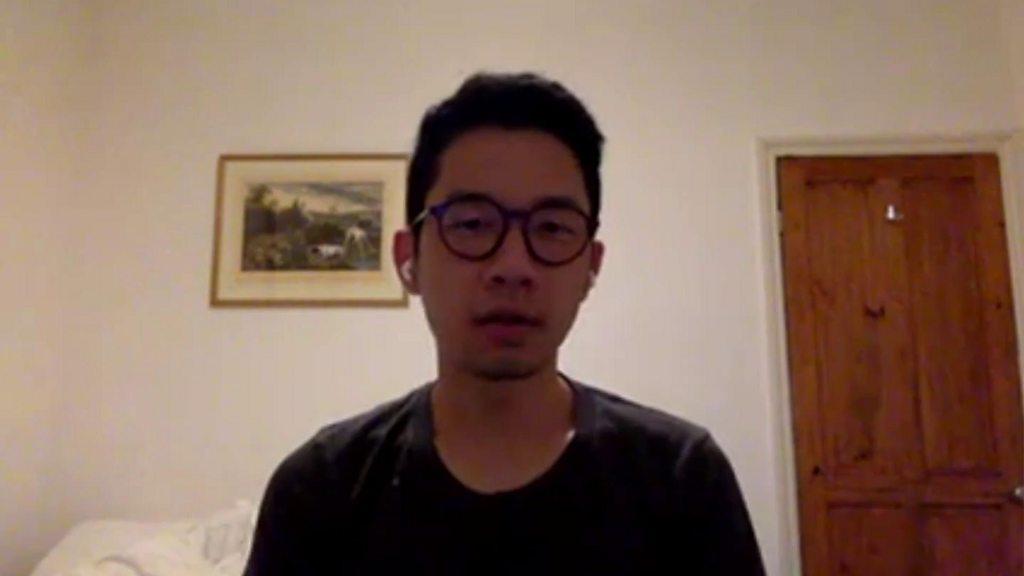 Leading young democracy activist flees Hong Kong