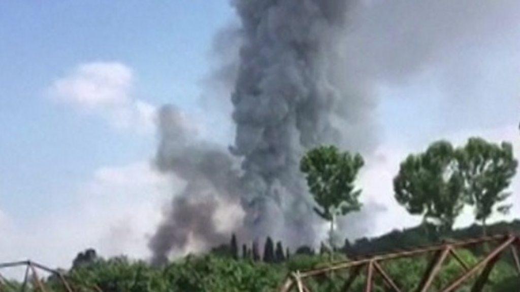 Turkey fireworks: Dozens harm as blast traps employees thumbnail
