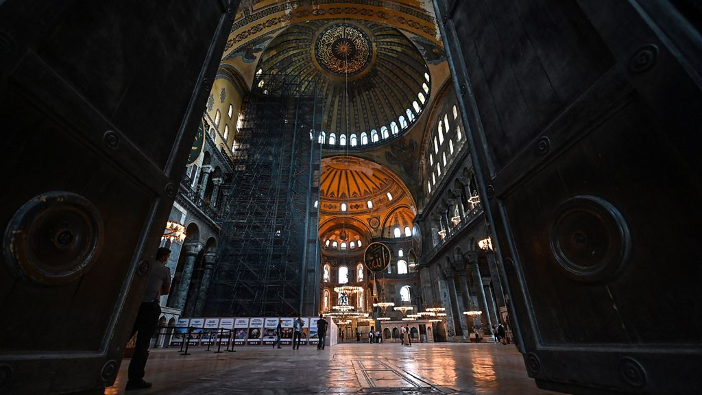 First Friday prayers at Hagia Sophia for 86 years