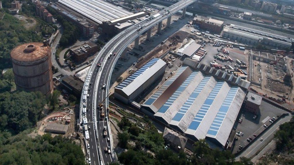 Genoa readies new bridge two years after tragic collapse
