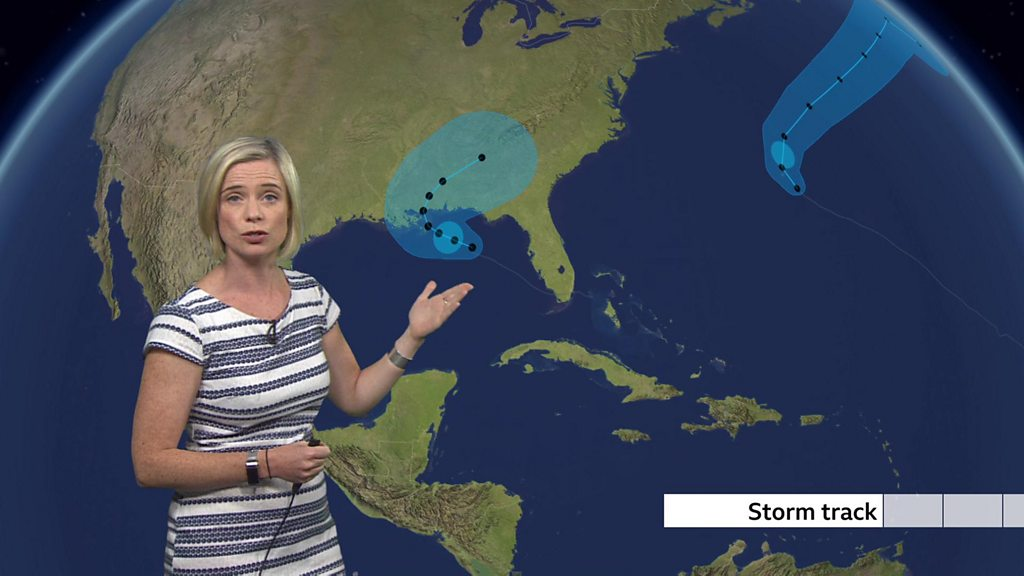 Hurricane Sally forms off US Gulf Coast, threatening southern states thumbnail