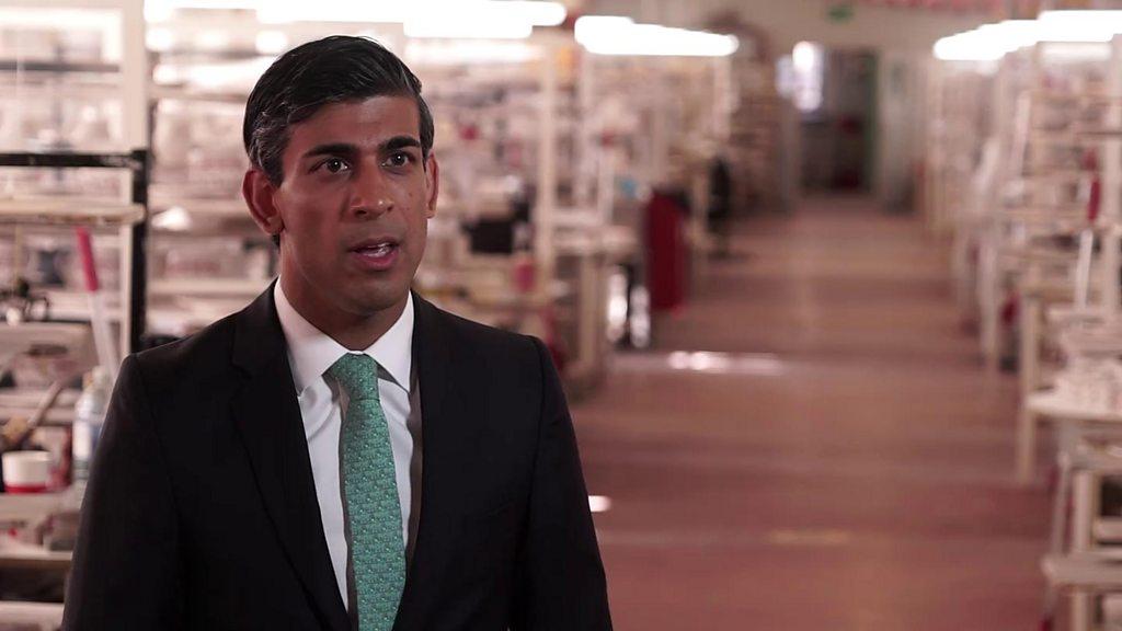 Rishi Sunak: New ways to protect jobs 'my priority'  image