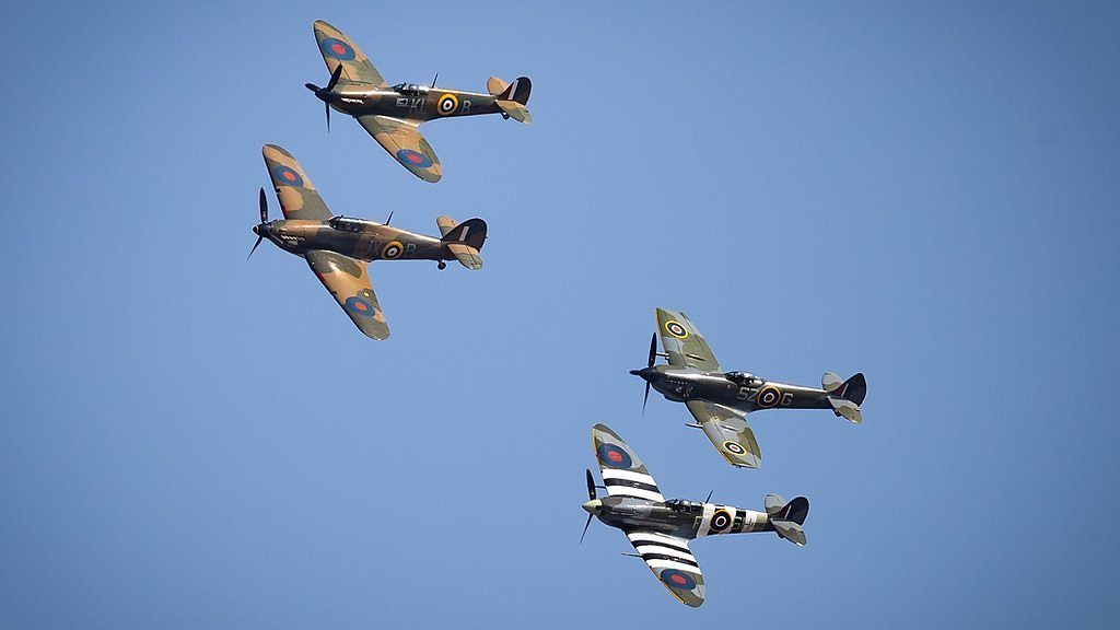 Flypast marks Battle of Britain 80th anniversary