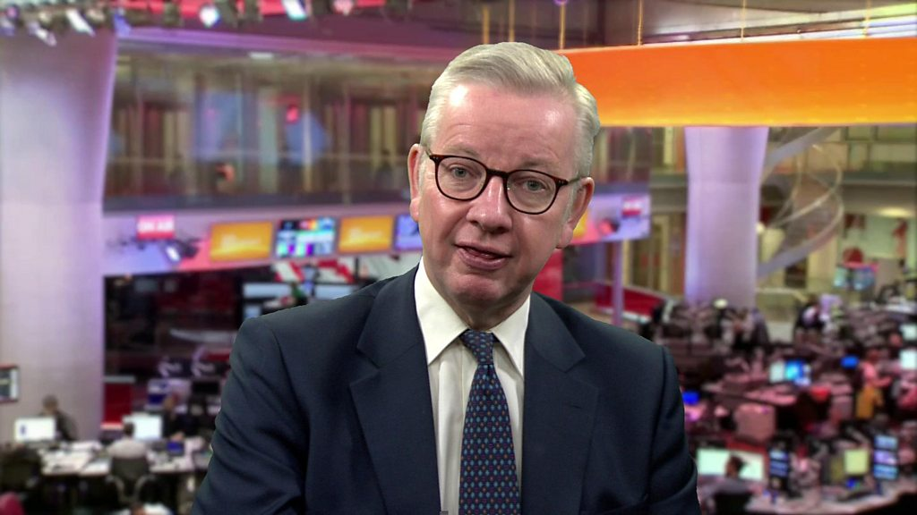 Coronavirus: Work from home 'if you can', Michael Gove says