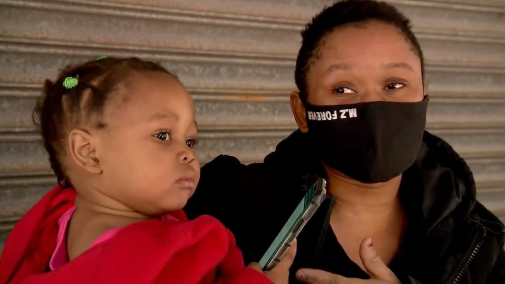 South Africa Zuma riots: Why Durban mother threw baby to strangers - BBC News