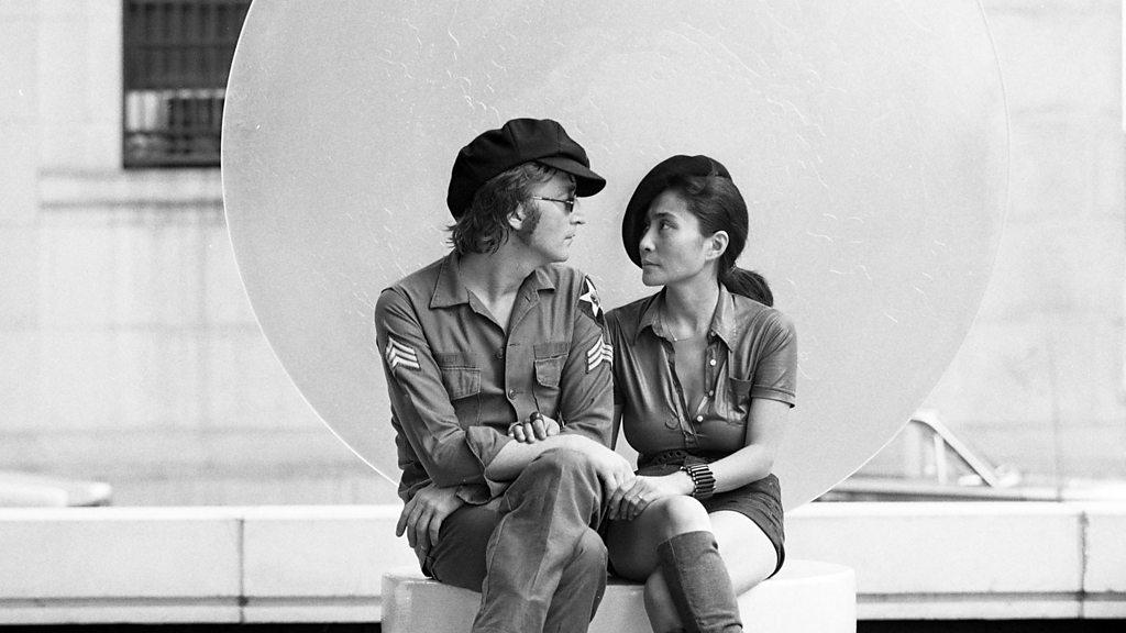 Exclusive: Yoko Ono covers Imagine for John Lennon's b'day - Music News  LIVE - BBC