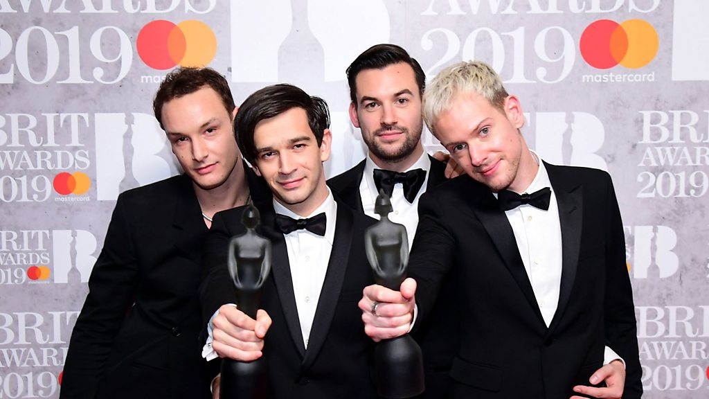 Brit awards 2019: The 1975 and Calvin Harris do the double