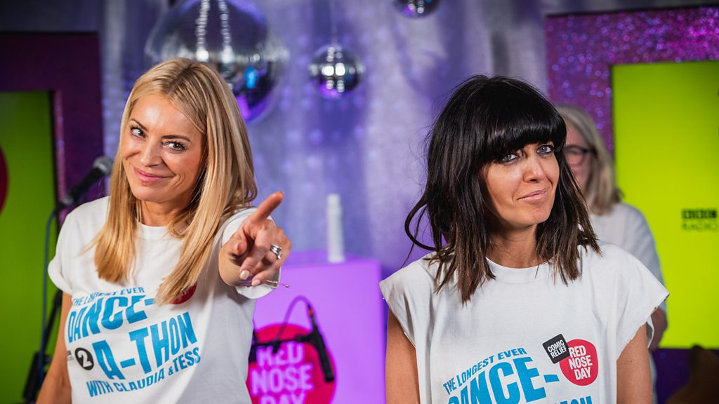 Radio 2's Longest Ever Danceathon for Comic Relief