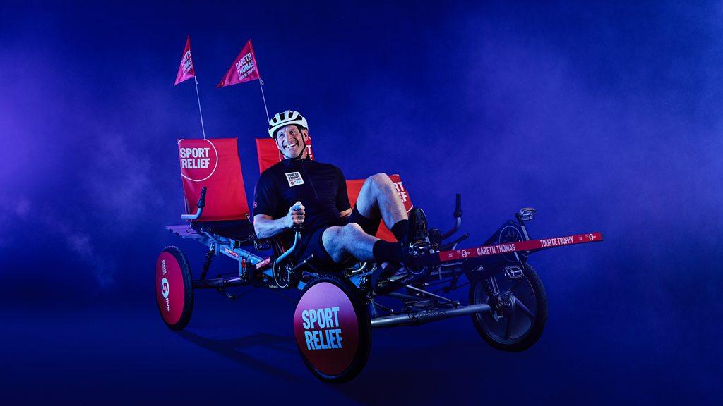 Gareth Thomas' Tour de Trophy for Sport Relief