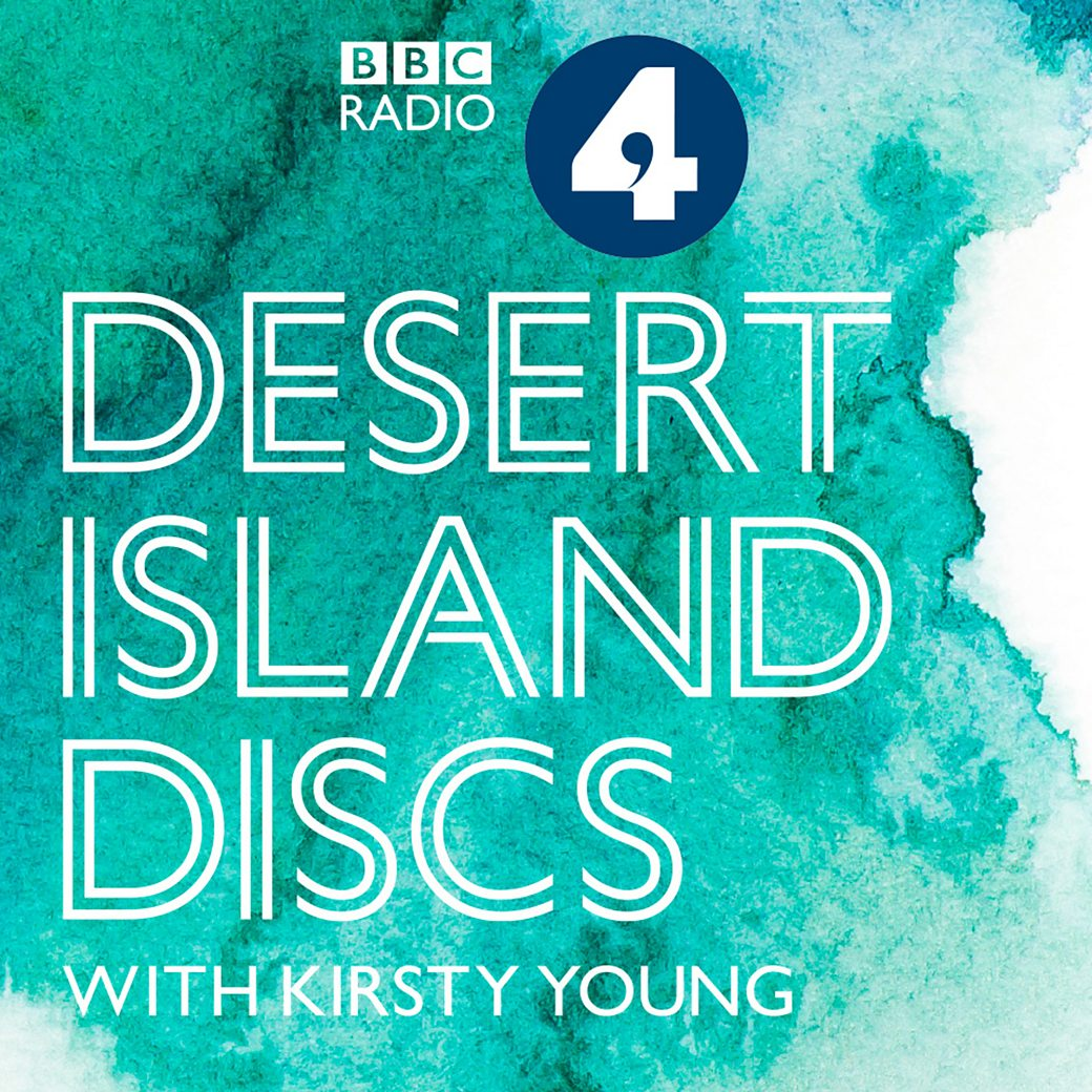 discs books island on desert
