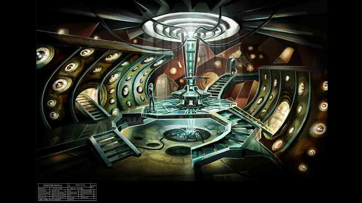 BBC One   TARDIS Interior   Doctor Who, Series 5   The TARDIS: Concept Art