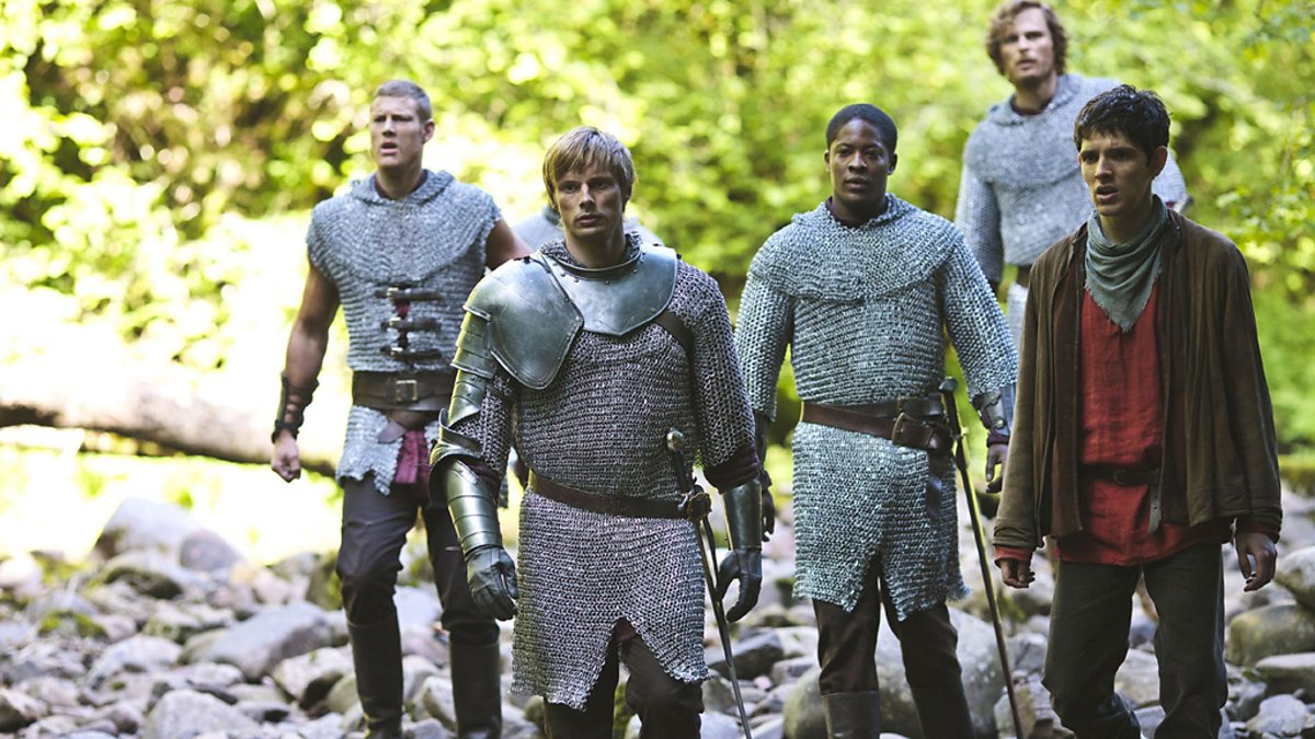 Bbc one king arthur merlin and the knights of the round for 13 knights of the round table