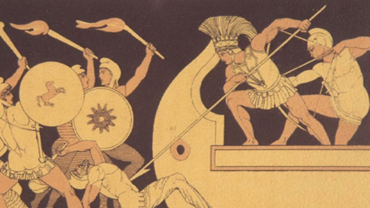 the factor of fate in the epic the iliad by homer