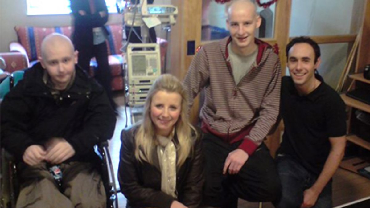 Bbc Radio 1 Aled And Carly Meet And Greet The Patients They