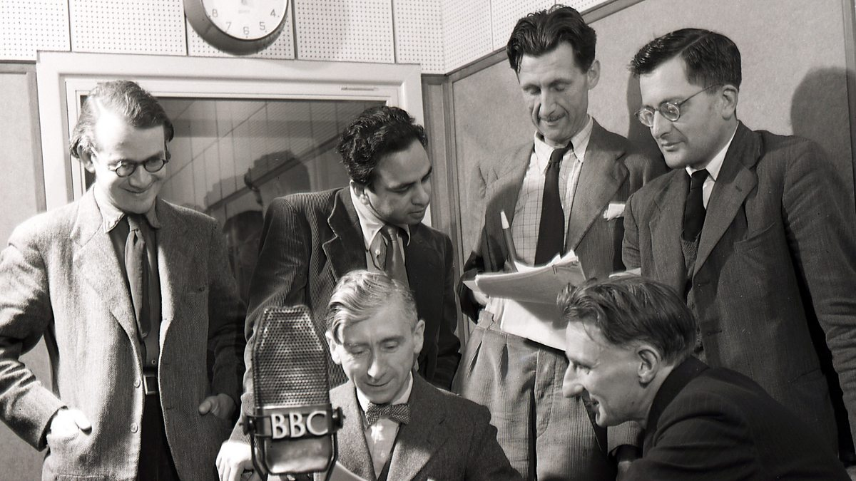 bbc radio orwell s essay shooting an elephant was published recording voice in studio for the bbc eastern service