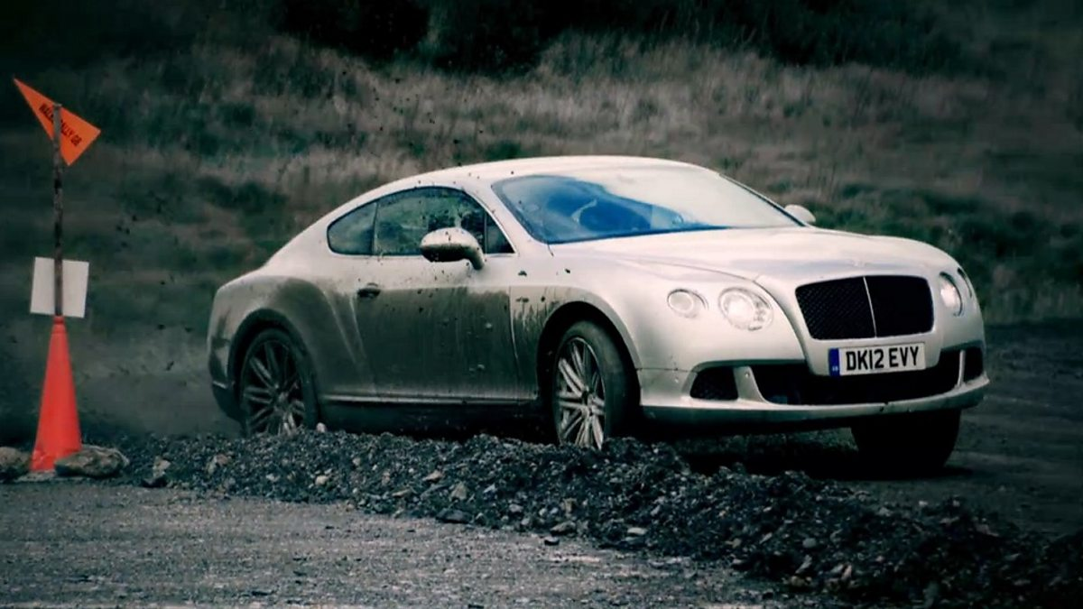 BBC Two - Top Gear, James May and Kris Meeke's Bentley Rally
