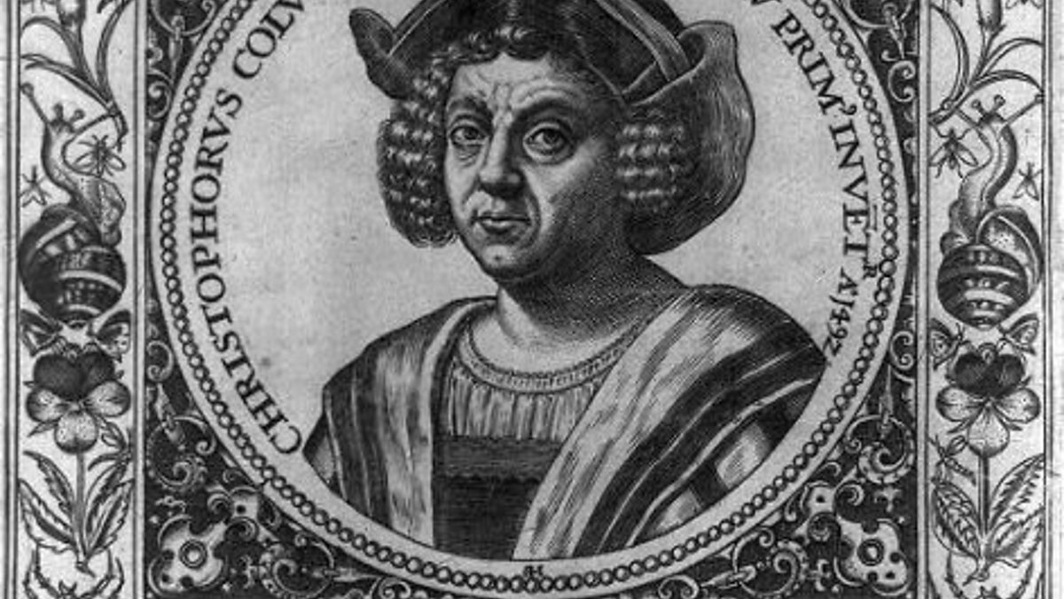 bbc radio 4 christopher columbus 1595 engraving by johann