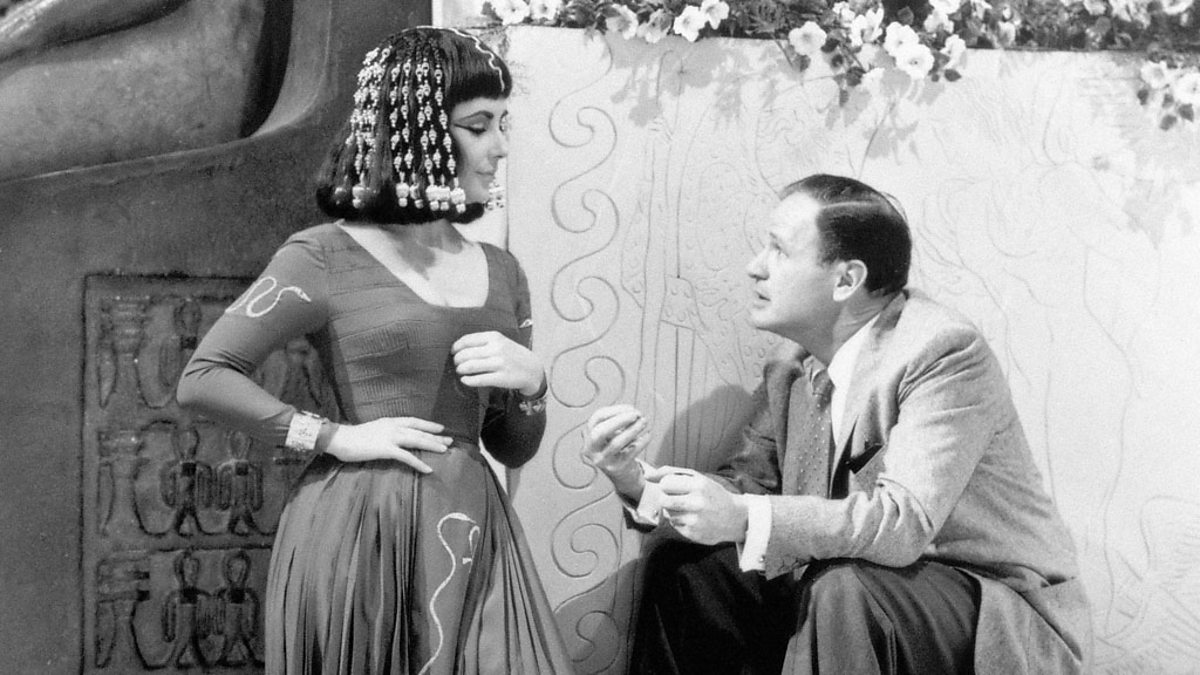 BBC Four Elizabeth Taylor Taking Direction Cleopatra The