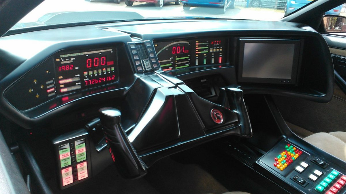 Bbc Radio Stoke Kitt Dashboard And Instruments Stuart
