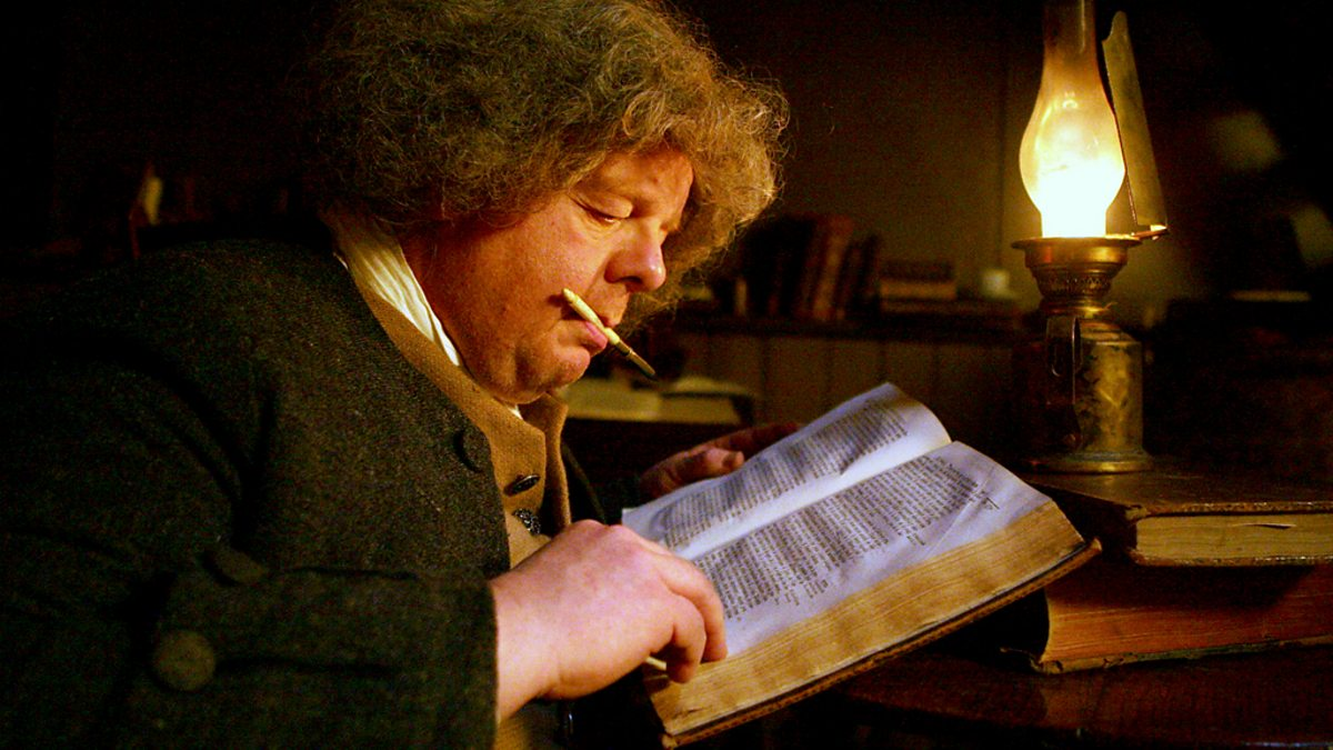 Bbc Four Samuel Johnson The Dictionary Man