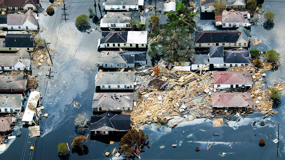 the george bush speech on the hurricane katrinas destruction Bush, george w: hurricane katrina george w the evacuation of hurricane on the federal government's response to the destruction caused by hurricane katrina.